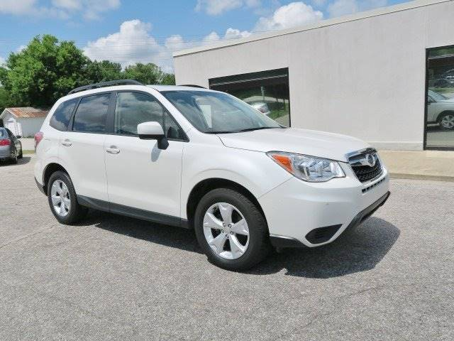 2015 Subaru Forester for sale at CROSSROADS AUTO SALES INC. in Alabaster AL