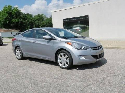 2013 Hyundai Elantra for sale at CROSSROADS AUTO SALES INC. in Alabaster AL