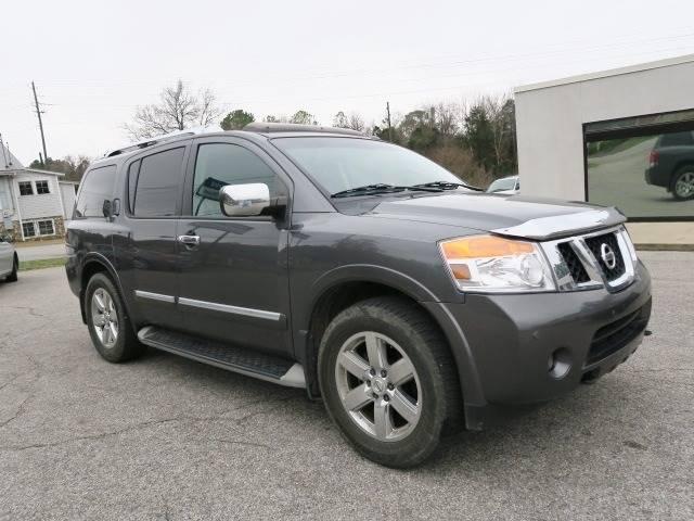 2011 Nissan Armada for sale at CROSSROADS AUTO SALES INC. in Alabaster AL