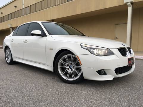 2010 BMW 5 Series for sale at REDLINE AUTO SALES LLC in Cedar Creek TX