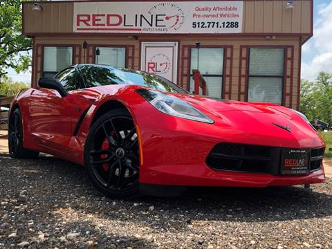 2014 Chevrolet Corvette for sale at REDLINE AUTO SALES LLC in Cedar Creek TX