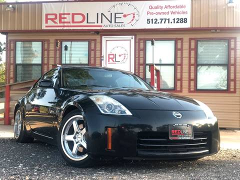 2006 Nissan 350Z for sale at REDLINE AUTO SALES LLC in Cedar Creek TX
