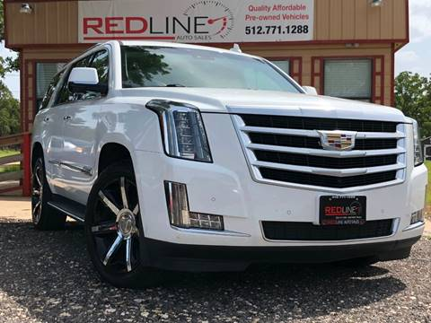 2015 Cadillac Escalade for sale at REDLINE AUTO SALES LLC in Cedar Creek TX