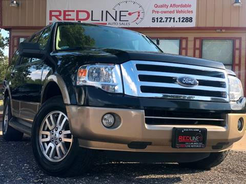 2012 Ford Expedition for sale at REDLINE AUTO SALES LLC in Cedar Creek TX