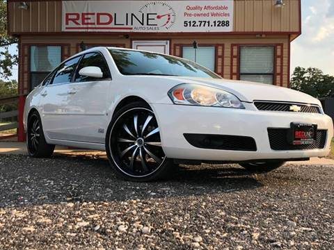 2008 Chevrolet Impala for sale at REDLINE AUTO SALES LLC in Cedar Creek TX