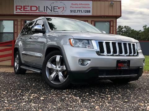 2012 Jeep Grand Cherokee for sale at REDLINE AUTO SALES LLC in Cedar Creek TX