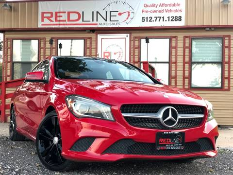 2014 Mercedes-Benz CLA for sale at REDLINE AUTO SALES LLC in Cedar Creek TX