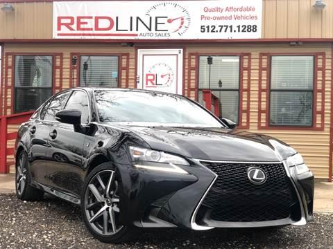 2016 Lexus GS 350 for sale at REDLINE AUTO SALES LLC in Cedar Creek TX