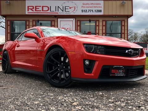 2012 Chevrolet Camaro for sale at REDLINE AUTO SALES LLC in Cedar Creek TX