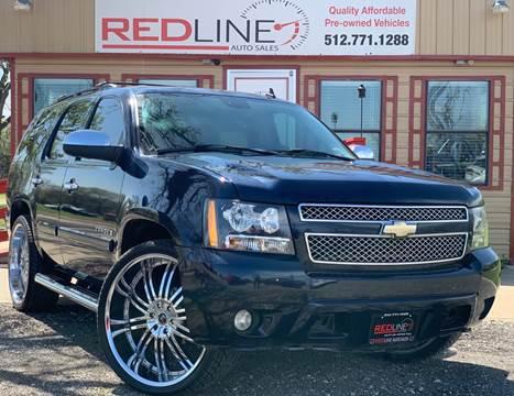 2008 Chevrolet Tahoe for sale at REDLINE AUTO SALES LLC in Cedar Creek TX