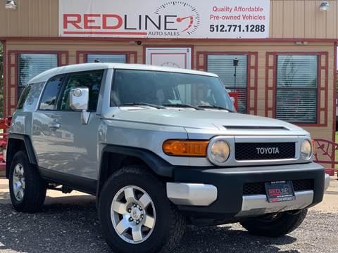 2007 Toyota FJ Cruiser for sale at REDLINE AUTO SALES LLC in Cedar Creek TX
