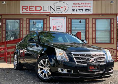 2009 Cadillac CTS for sale at REDLINE AUTO SALES LLC in Cedar Creek TX