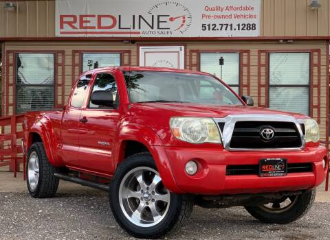 2005 Toyota Tacoma for sale at REDLINE AUTO SALES LLC in Cedar Creek TX