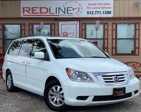 2009 Honda Odyssey for sale at REDLINE AUTO SALES LLC in Cedar Creek TX