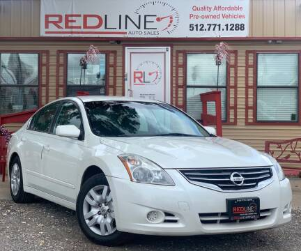 2010 Nissan Altima for sale at REDLINE AUTO SALES LLC in Cedar Creek TX