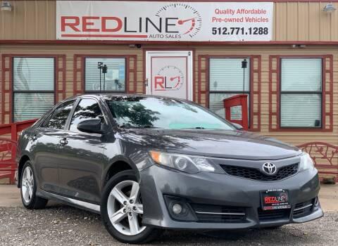 2014 Toyota Camry for sale at REDLINE AUTO SALES LLC in Cedar Creek TX