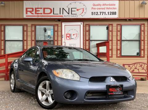 2008 Mitsubishi Eclipse for sale at REDLINE AUTO SALES LLC in Cedar Creek TX