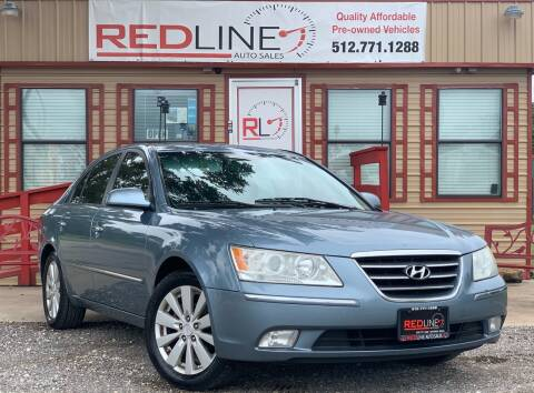2009 Hyundai Sonata for sale at REDLINE AUTO SALES LLC in Cedar Creek TX
