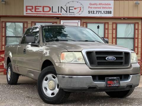 2004 Ford F-150 for sale at REDLINE AUTO SALES LLC in Cedar Creek TX