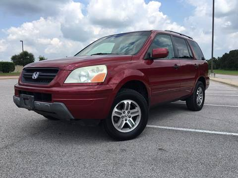 2004 Honda Pilot for sale at REDLINE AUTO SALES LLC in Cedar Creek TX