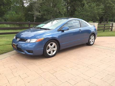 2006 Honda Civic for sale at REDLINE AUTO SALES LLC in Cedar Creek TX