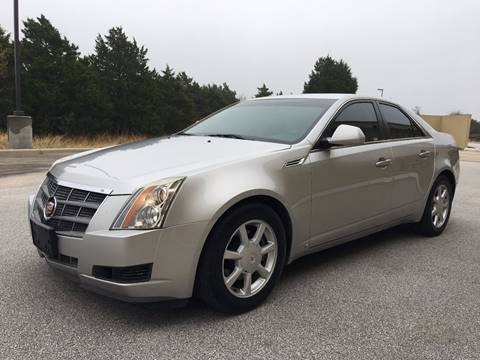 2008 Cadillac CTS for sale at REDLINE AUTO SALES LLC in Cedar Creek TX