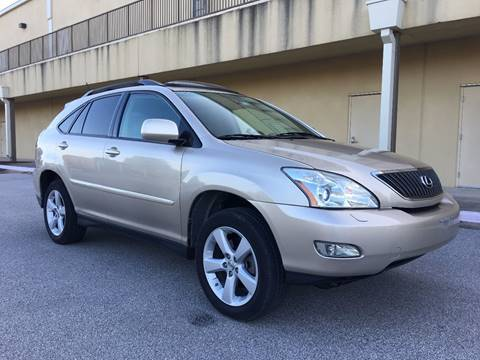 2007 Lexus RX 350 for sale at REDLINE AUTO SALES LLC in Cedar Creek TX