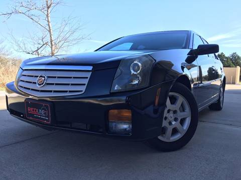 2007 Cadillac CTS for sale at REDLINE AUTO SALES LLC in Cedar Creek TX