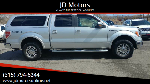 2010 Ford F-150 for sale at JD Motors in Fulton NY