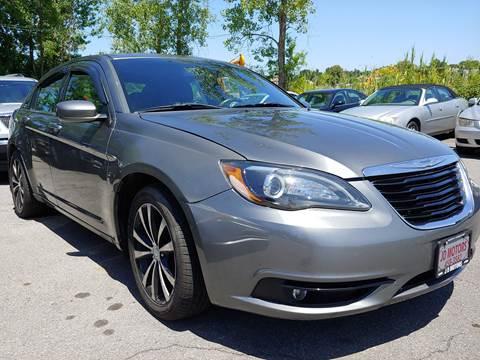 2012 Chrysler 200 for sale at JD Motors in Fulton NY