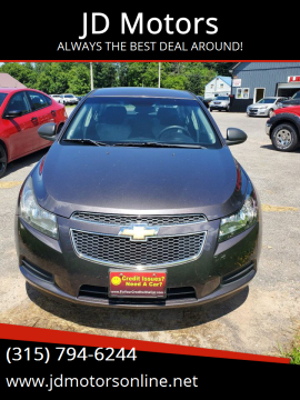 2011 Chevrolet Cruze for sale at JD Motors in Fulton NY