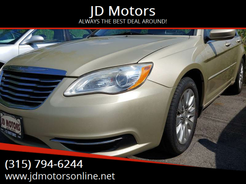 2011 Chrysler 200 for sale at JD Motors in Fulton NY