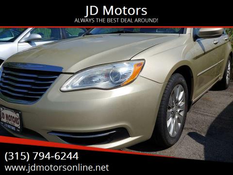 2011 Chrysler 200 for sale at JD Motors in Fulton NY