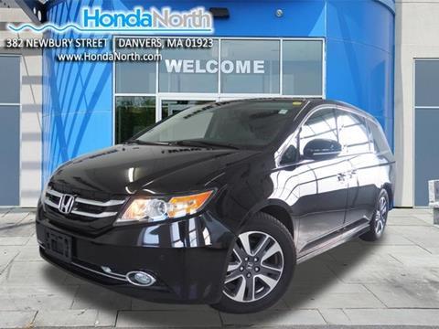 2016 Honda Odyssey for sale in Danvers, MA