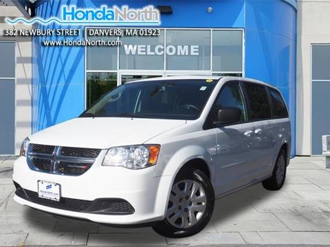 2016 Dodge Grand Caravan for sale in Danvers, MA