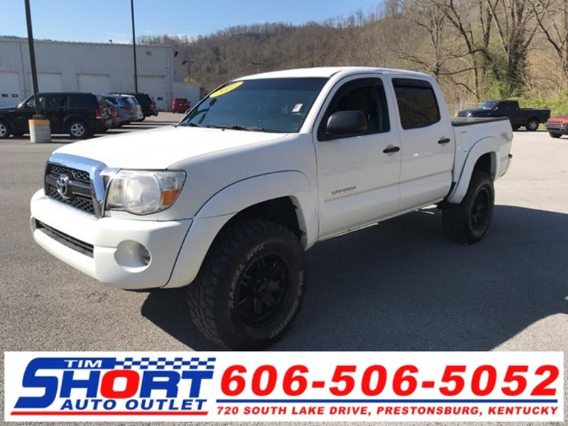 2011 Toyota Tacoma For Sale At Tim Short Honda In Ivel KY