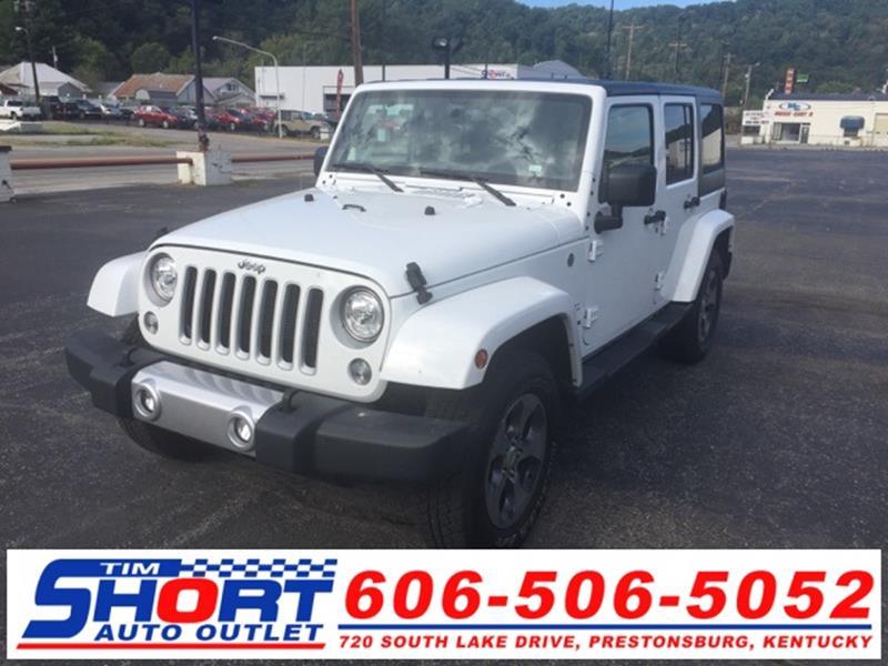 2018 Jeep Wrangler Unlimited For Sale At Tim Short Honda In Ivel KY
