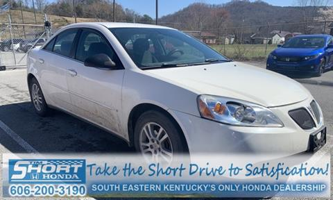 2006 Pontiac G6 for sale in Ivel, KY