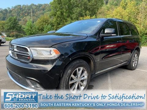 2014 Dodge Durango for sale in Ivel, KY