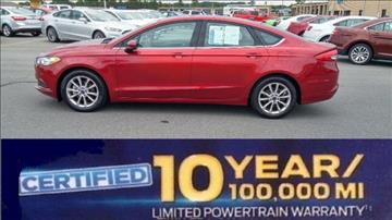 2017 Ford Fusion for sale in Albemarle, NC