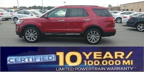 2017 Ford Explorer for sale in Albemarle NC