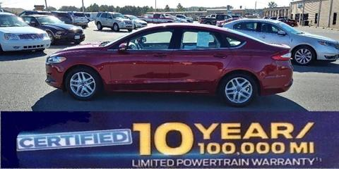 2016 Ford Fusion for sale in Albemarle NC