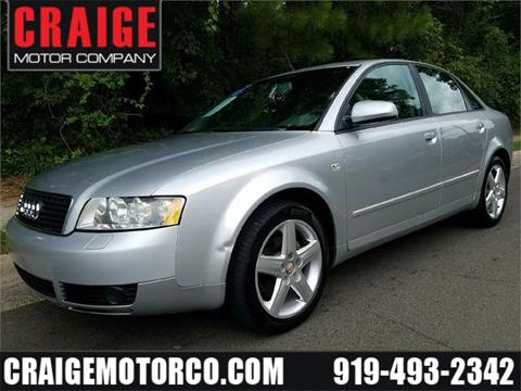 2005 Audi A4 for sale in Durham, NC