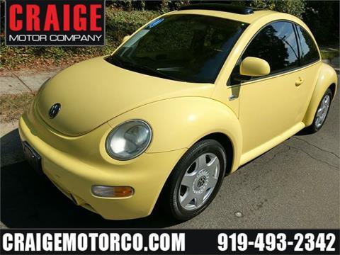 2000 Volkswagen New Beetle for sale in Durham, NC