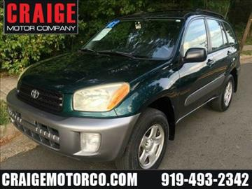 2002 Toyota RAV4 for sale in Durham, NC