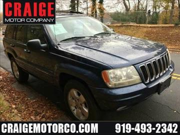 2001 Jeep Grand Cherokee for sale in Durham, NC