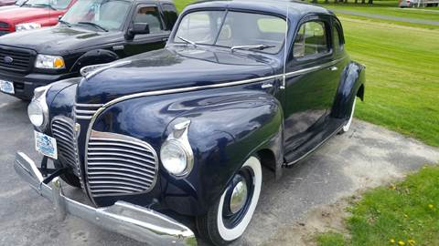 1941 Plymouth Business Coupe for sale in Pittsford, VT