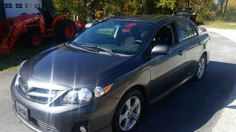 2011 Toyota Corolla for sale in Pittsford, VT