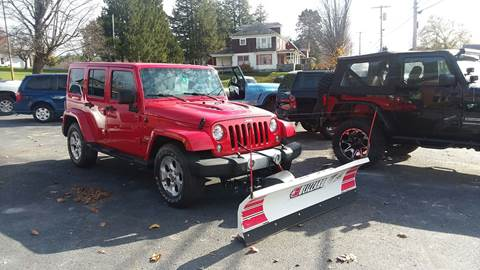 2015 Jeep Wrangler Unlimited for sale in Pittsford, VT