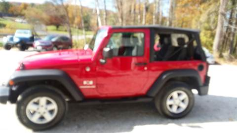 2007 Jeep Wrangler for sale in Pittsford, VT